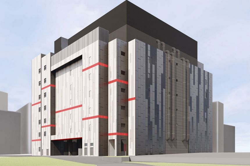 An artist's impression of Equinix's latest data centre in Singapore, to be located in Tai Seng Industrial Estate.
