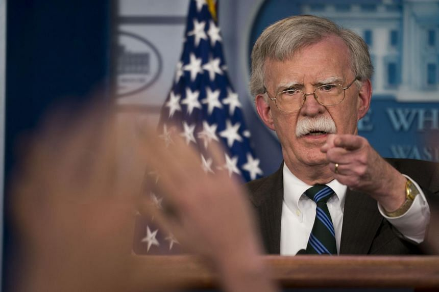 National security adviser John Bolton is one of several top White House advisers who have led a behind-the-scenes effort to slow US President Donald Trump's order to withdraw from Syria.