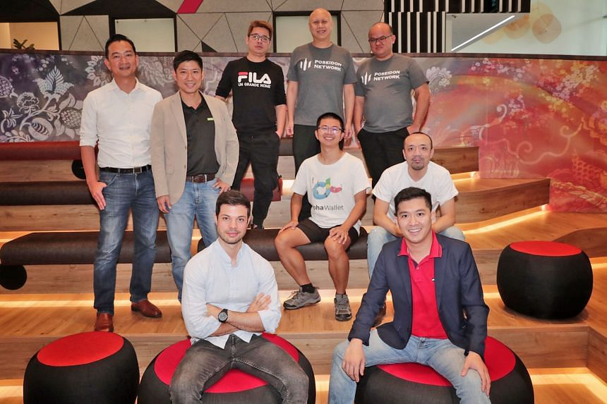 Participants in the incubator programme. LongHash aims to turn the projects into minimum viable products to be tested in the market.