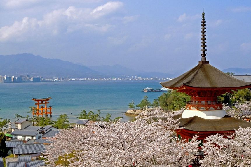 The Chugoku region is home to unique and significant Japanese sites, such as Itsukushima Shrine. PHOTO: HIROSHIMA PREFECTURE