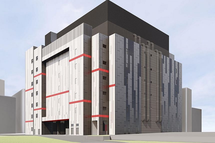 An artist's impression of Equinix's latest data centre in Singapore, which will be located in Tai Seng Industrial Estate.