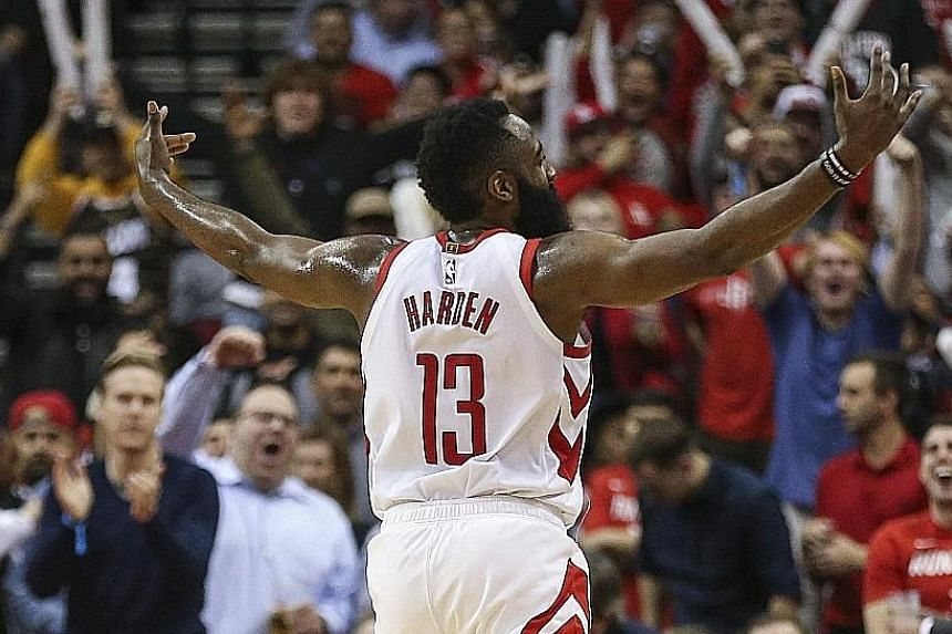The Houston Rockets' James Harden has been in irresistible form lately to the delight of the home crowd, who saw him deliver a 32-point, 14-assist masterclass against the Western Conference leaders Denver Nuggets on Monday. Rockets centre Clint Capel
