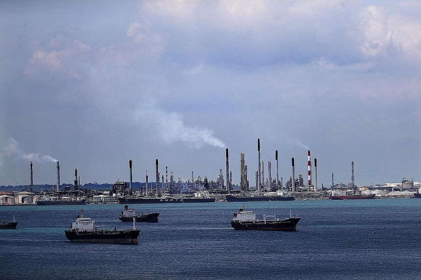 The fire at Shell's Pulau Bukom petroleum refinery on Aug 21, 2015, left four Indian nationals, a Filipino and a Myanmar national with burns. The Ministry of Manpower said the works of two groups of workers in the same vicinity were not coordinated,