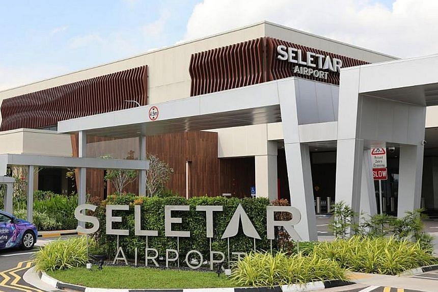 The new passenger terminal at Seletar Airport opened in November last year.