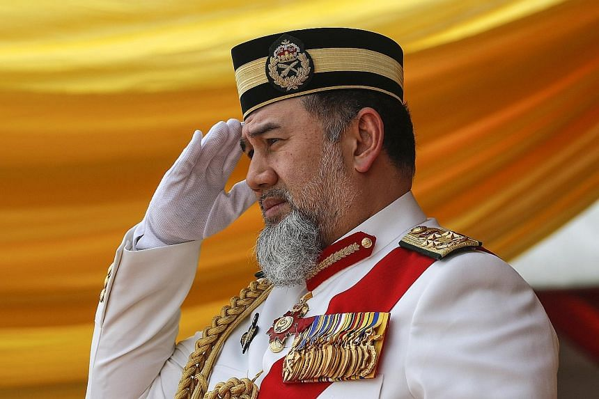 Sultan Muhammad V abdicated as King of Malaysia on Sunday.