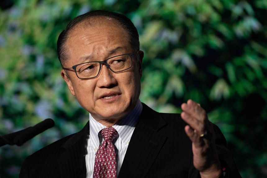Mr Jim Yong Kim resigned more than three years before his term ends in 2022 amid differences with the Trump administration over climate change and the need for more development resources.
