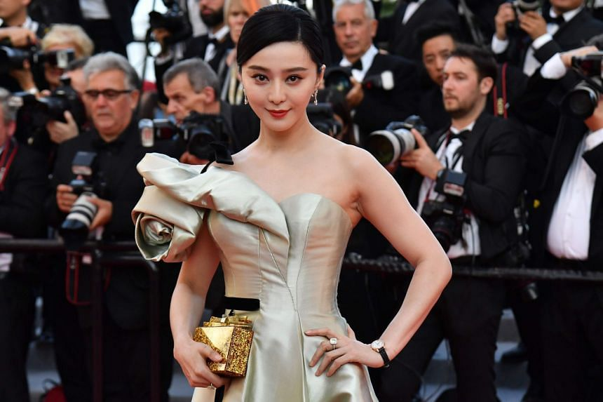 Fan Bingbing, who topped Forbes' 2017 list of top earners in China with 300 million yuan (S$60 million), was fined 883 million yuan by the authorities last year over tax evasion.