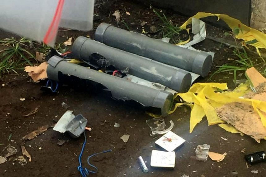 Indonesia's Corruption Eradication Commission leaders Agus Rahardjo and Laode M. Syarif faced terror threats on Wednesday (Jan 9) when what appeared to be bombs were placed at their houses.
