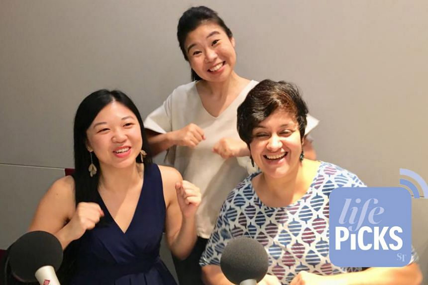 Life Picks podcast host Melissa Sim (centre) is joined by ST journalists Yip Wai Yee (left) and Akshita Nanda (right) as they give you the best lifestyle tips this week.