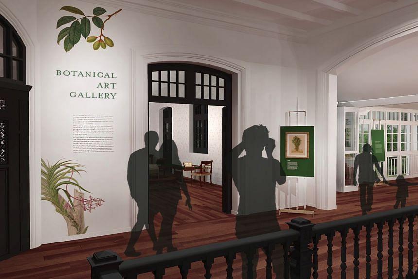 Botanical Art Gallery.