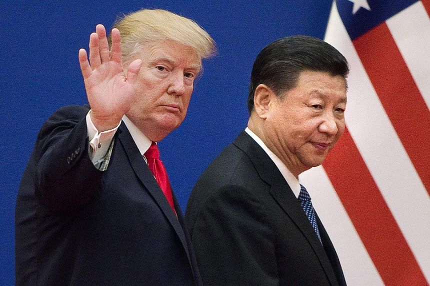 This marks the first time trade negotiators from both countries have met face to face since US President Donald Trump (left) and Chinese President Xi Jinping met in Argentina in December, 2018.