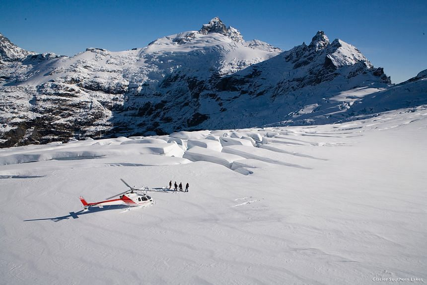 Go on an alpine scenic flight in New Zealand and get a chance to land in the snow on one of the stunning peaks in the region.
