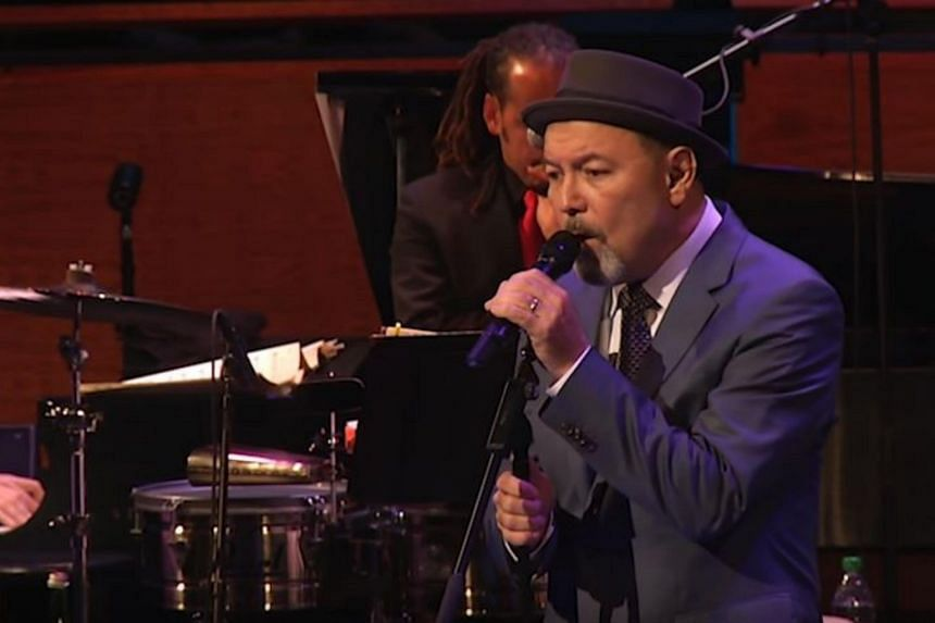 The album was recorded live at the Lincoln Center's Frederick P Hall on Nov 15, 2014. The programming of Panamanian singer and activist Ruben Blades dovetails nicely with Marsalis' own politically aware aesthetic.