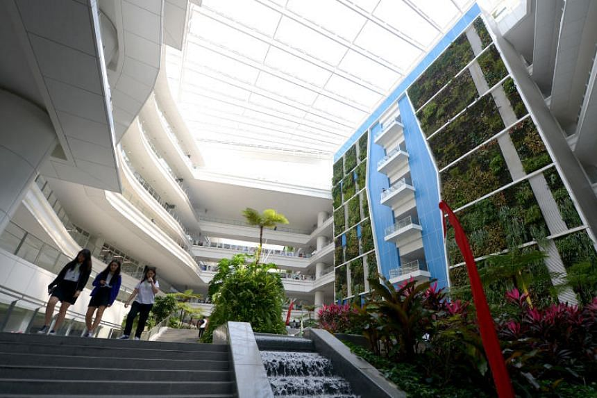 ITE College Central in Ang Mo Kio. A new study showed that ITE students largely spend their money on groceries and snacks, as well as dining and shopping.