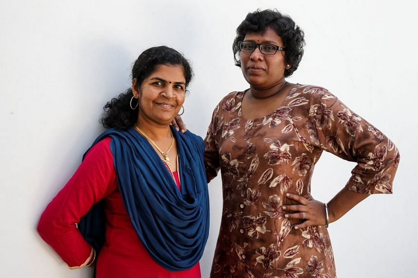Ms Kanakadurga (left) and Ms Bindu Ammini were determined to enter the temple despite threats of violence.