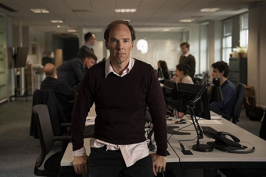 Aaron Eckhart and Marthe Keller in The Romanoffs. Benedict Cumberbatch in Brexit: The Uncivil War as political strategist Dominic Cummings, who was hired by the Vote Leave camp to convince Britons to quit the European Union.