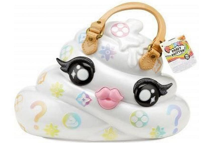 Luxury fashion label Louis Vuitton had claimed that the design of Poopsie Pooey Puitton (left) is a trademark infringement because its design marks and name are similar to those of its handbags.