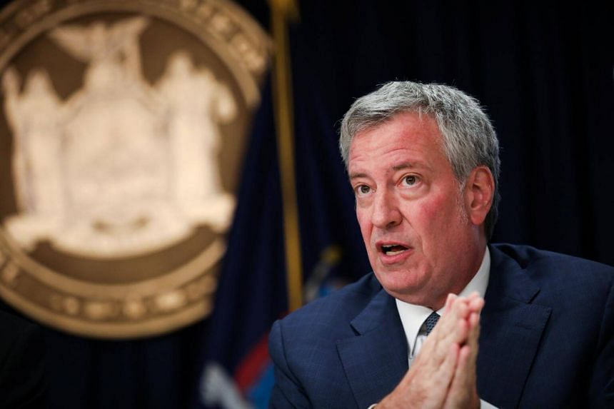 New York City Mayor Bill de Blasio will present a draft decree for consideration to the city council that would apply to all companies in the city with at least five employees.