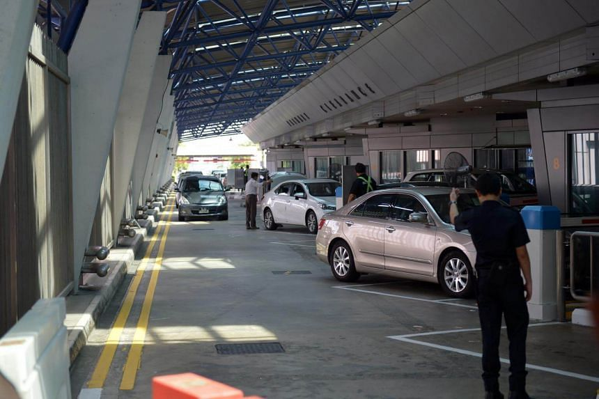 ICA officers at the land checkpoints have to handle a variety of scenarios and may be redeployed at any time to areas which require more support.