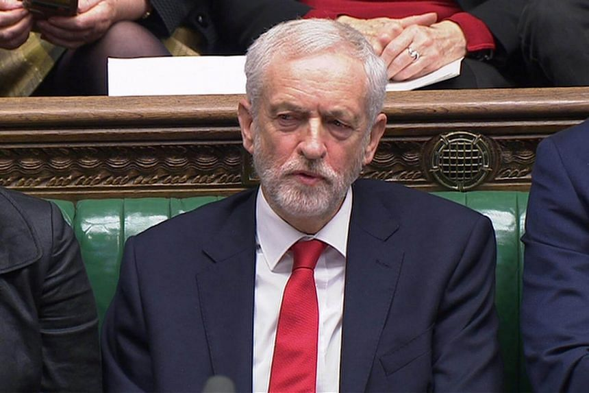 Labour leader Jeremy Corbyn will deliver a speech - a rare public intervention on Brexit - in Wakefield, northern England on Jan 10, 2019.