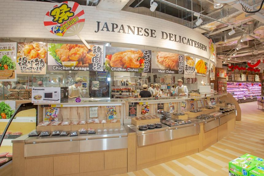 The 26,000 sq ft space will feature a wider selection of Japanese cuisine, a foodcourt and a bargain section.
