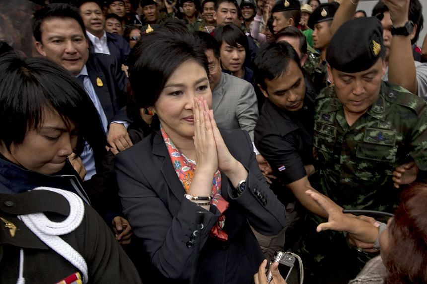 Publicly searchable corporate filings in Hong Kong show fugitive former Thai premier Yingluck Shinawatra used a Cambodian passport to register as director of a company on Aug 24, 2018.