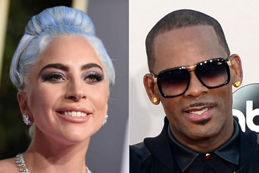 Lady Gaga (left) has apologised for a 2013 musical collaboration with R&B star R. Kelly (right).