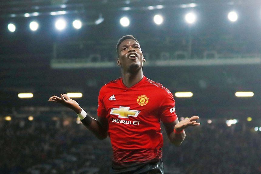 Manchester United star Paul Pogba has scored four goals in four games since the sacking of former manager Jose Mourinho on Dec 18