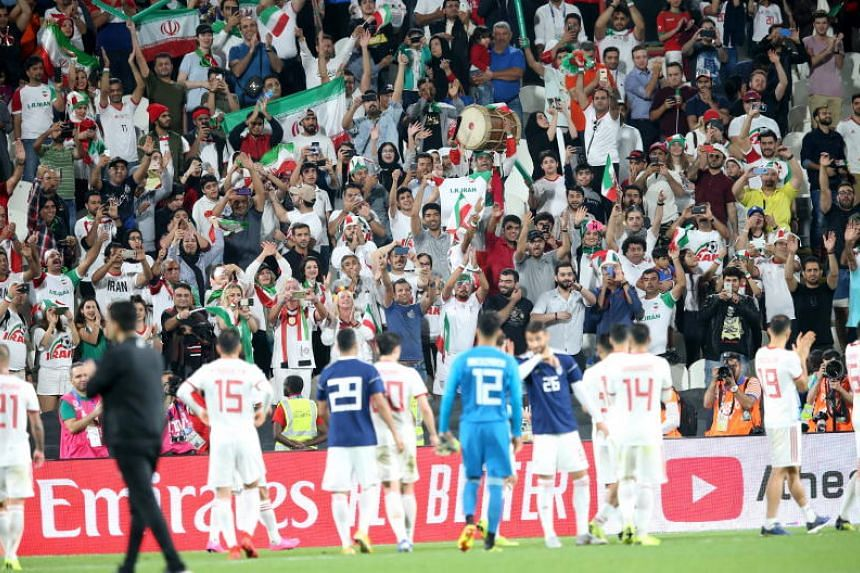 Iran swamped Yemen 5-0 in the biggest win of the first round.