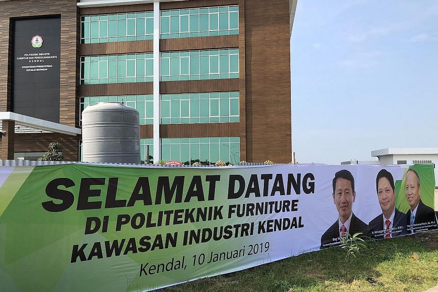 The Kendal Furniture and Wood Processing Industry Polytechnic welcomed its first batch of students last October; only 99 were picked from 694 applicants.