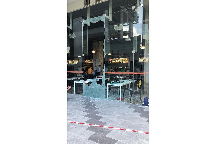 The glass panel shattered on Jan 10, 2019, injuring six.