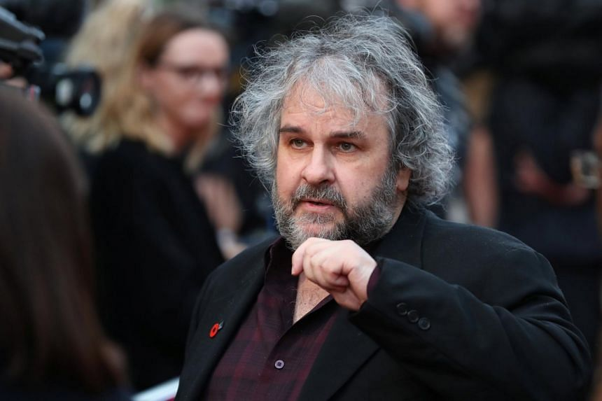 Director Peter Jackson at the world premiere of his film They Shall Not Grow Old during the BFI London Film Festival in London on Oct 16, 2018.