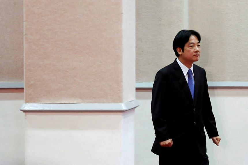Taiwan Premier William Lai's departure was widely expected, as it is standard practice in Taiwan for leaders to go when their party loses a major election.