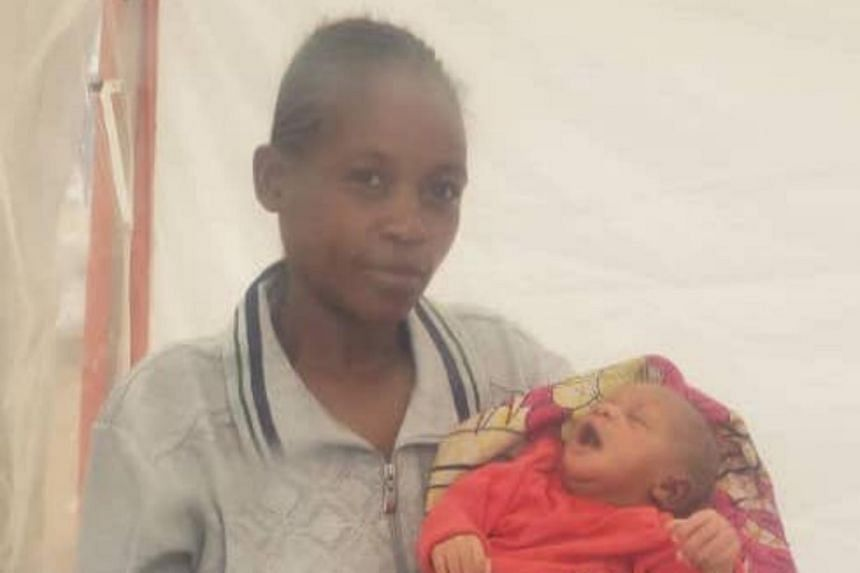 Baby Sylvana is healthy and does not have Ebola, the Democratic Republic of Congo's Ministry of Health said.