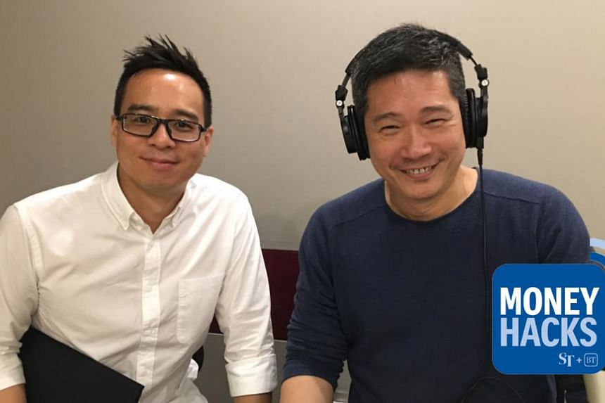Money Hacks host Chris Lim (left) and veteran wine educator and international wine judge Lim Hwee Peng talk about the commercial and personal benefits of wine education and certification.