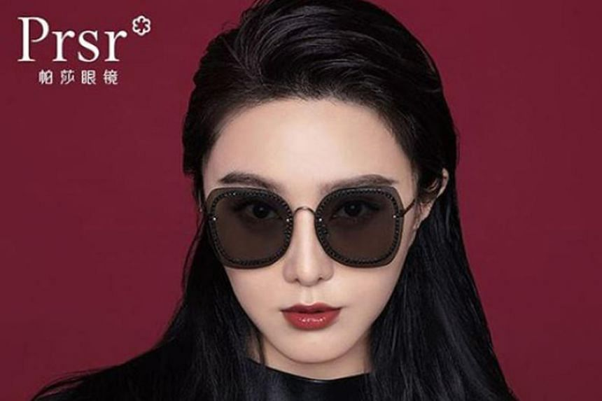 Photos showing Fan Bingbing promoting a Chinese sunglasses brand on Sina Weibo this week suggest that advertisers are now willing - or could have obtained tacit approval from the authorities - to take a chance on her again.