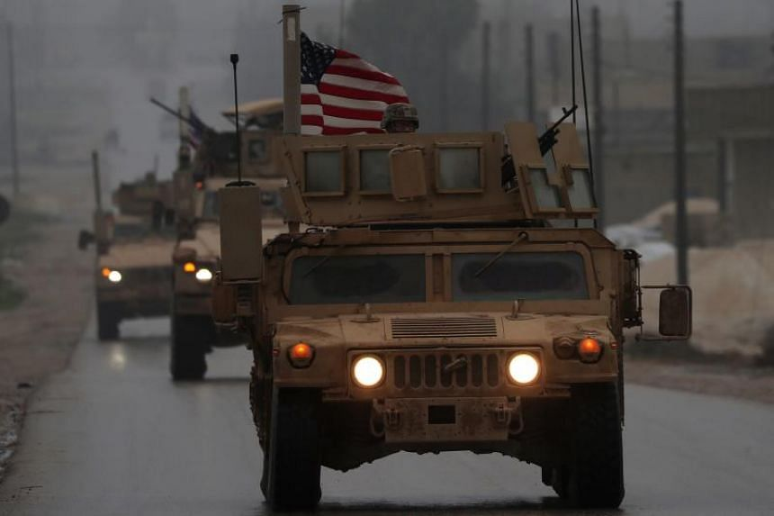 US President Donald Trump claimed in December 2018 that Islamic State in Iraq and Syria militants had been defeated and that US troops could therefore come home.