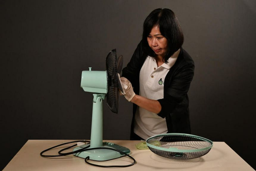 Madam Daphne Tan, a showroom cleaner with Errands Service Provider, gives tips on how to make them look shiny again.