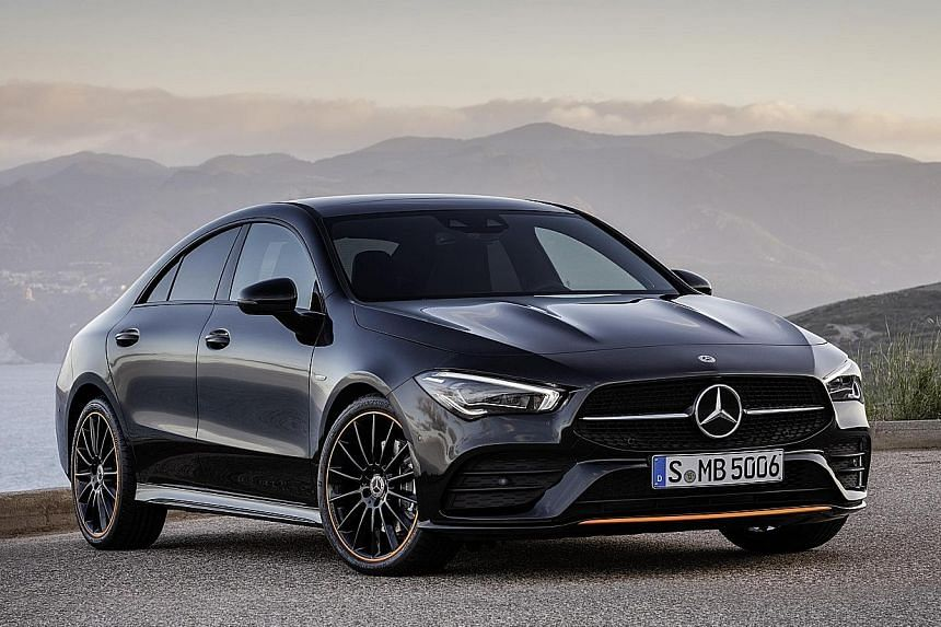 The new Mercedes-Benz CLA Coupe (above) is bigger all round, but sits slightly lower than its predecessor. With a longer wheelbase, it also promises more room. It will have a host of new features, including gesture control, augmented reality navigati