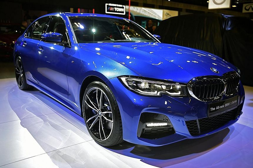The 3-series (above) has always been BMW's ultimate driving machine. The latest one packs a host of innovative features, including the ability to retrace its path backwards for 50m.