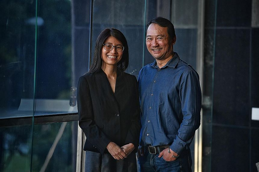 Although Ms Wang Luan Hua then had no experience in e-commerce, she suggested taking a professional conversion programme for digital professionals, said Spectacle Hut's managing director Gary Khoo.