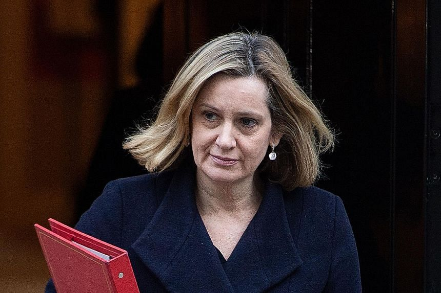 Britain's Work and Pensions Minister Amber Rudd has underlined the damaging impact of leaving the EU in March without a new trade deal in place.