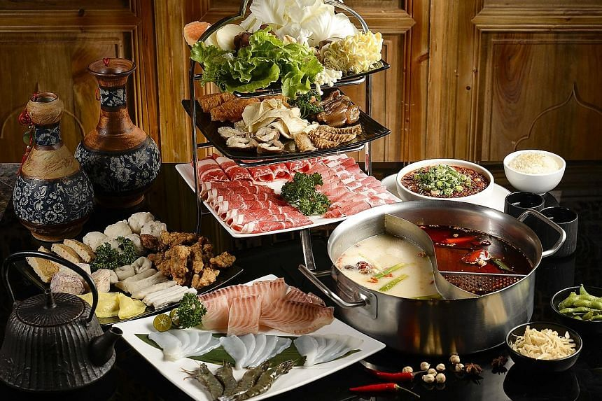 Feast on a lavish spread at M Hotel, with 25 per cent off goodies like The Buffet restaurant's Eight Treasures Premium Steamboat.