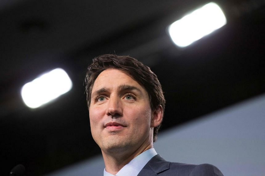 Trudeau (above) says Canada acted in accordance with the rule of law.