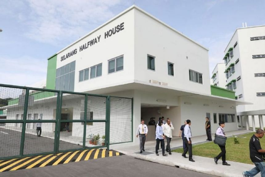 The new Government-run Selarang Halfway House caters to those who are undergoing the Mandatory Aftercare Scheme - a regime for former inmates who might have a higher risk of reoffending.