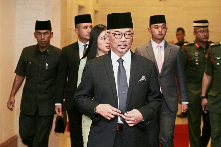 "When a reporter wished Tengku Abdullah Sultan Ahmad Shah ""congratulations"" after the meeting, the Regent politely said: ""Thank you""."