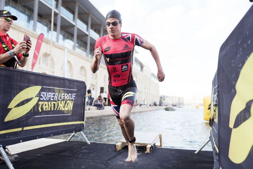 Top triathlete Jonathan Brownlee will be in Singapore for the Feb 23-24 Super League Triathlon finale. He is aiming for a win which would also help him to finish on the podium in the overall series ranking.