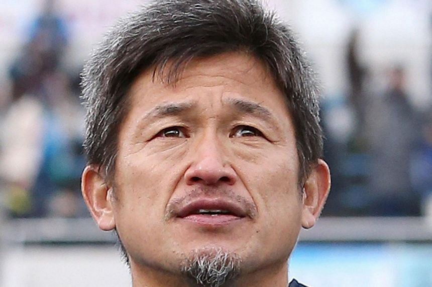 Former Japan striker Kazuyoshi Miura will kick off his 34th career season this year.