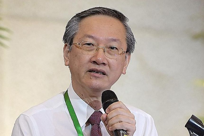 MINISTER OF STATE FOR SOCIAL AND FAMILY DEVELOPMENT SAM TAN