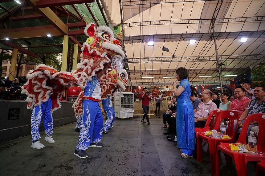 It was a case of putting your best foot forward yesterday when the THK Bravehearts, a group comprising folk with intellectual disabilities, roared into action with a lion dance for Dr Lily Neo, an MP for Jalan Besar GRC, and guests at Kreta Ayer Squa